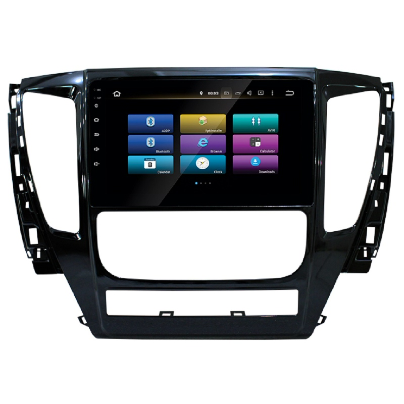 MOBILETECH Headunit Pajero Android 9 Inch