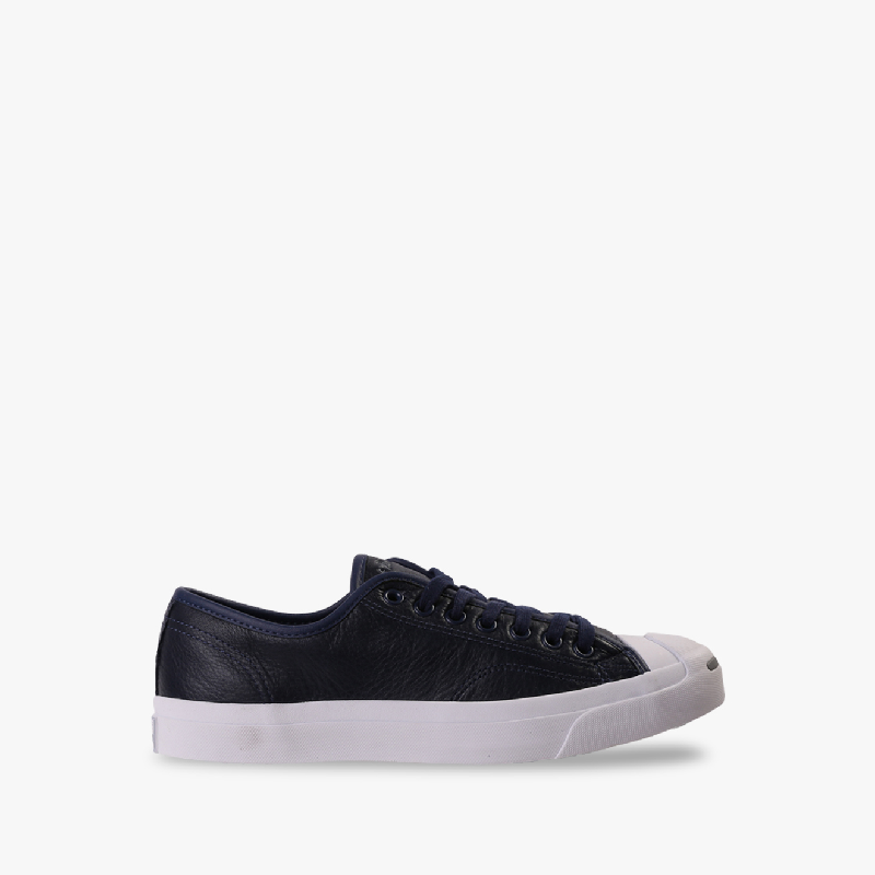 Converse Jack Purcell Jack Leather Ox Men's Sneakers Shoes Navy
