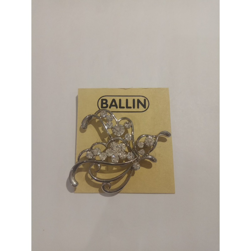 Ballin Women Brooch CB-BR29-03140S Silver
