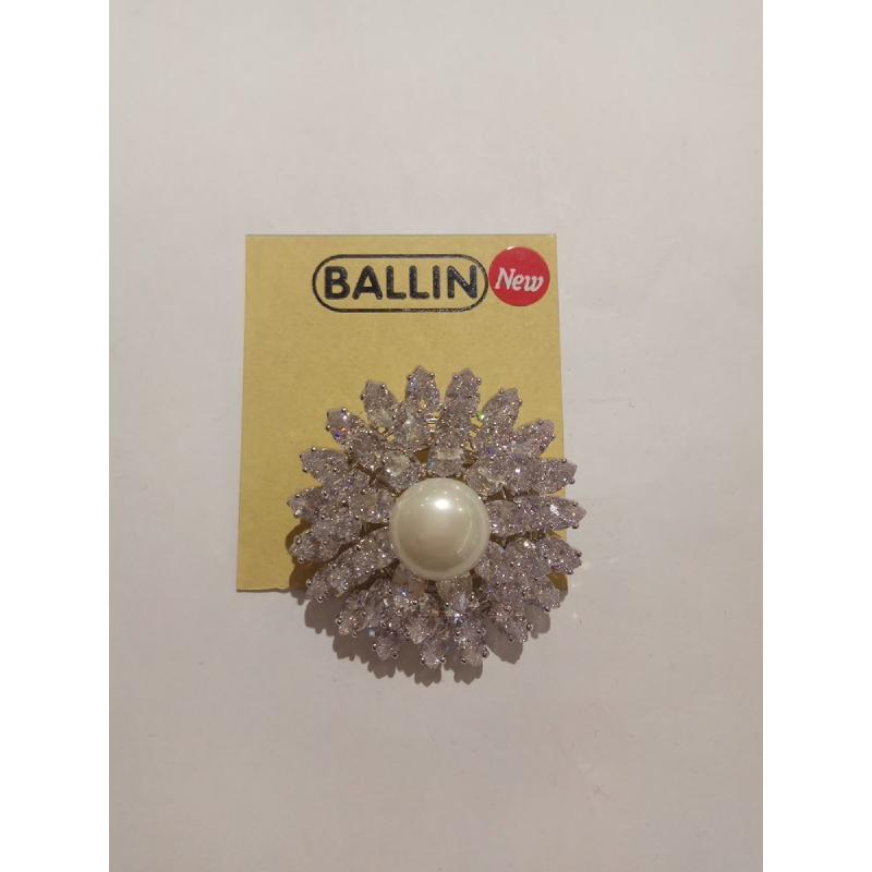 Ballin Women Brooch LF-BRSC1066902S Silver