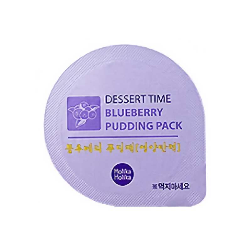 Dessert Time Blueberry Puding Pack (Nutrition)