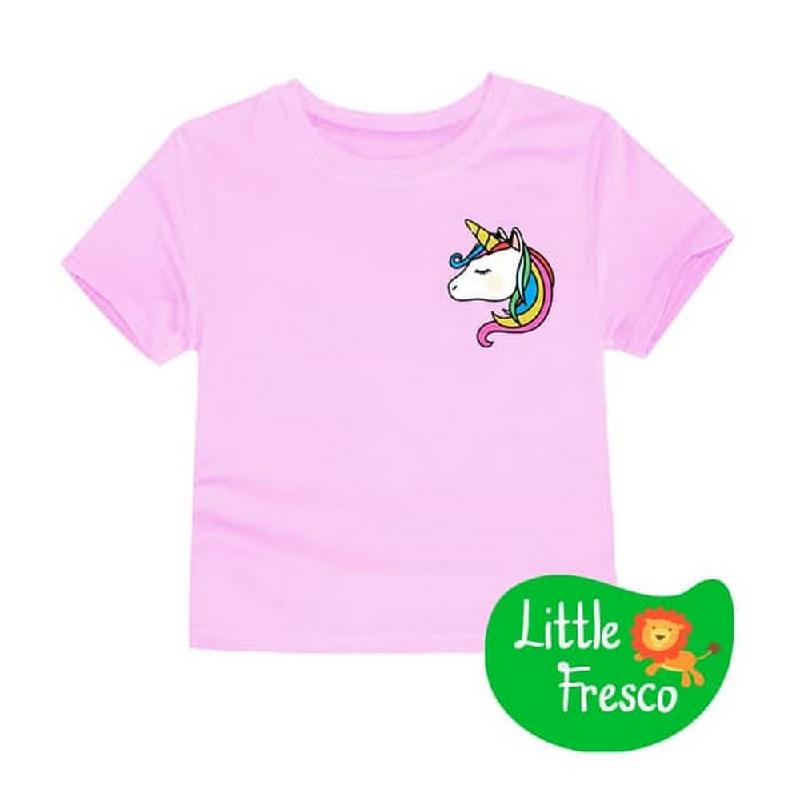 Little Fresco - Kaos Anak Pink Unihead