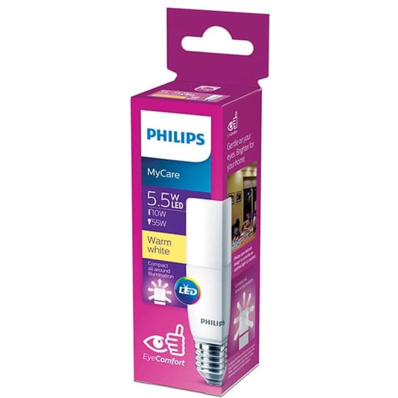 Philips LED Stick 5.5W E27 3000K Kuning (2pcs)