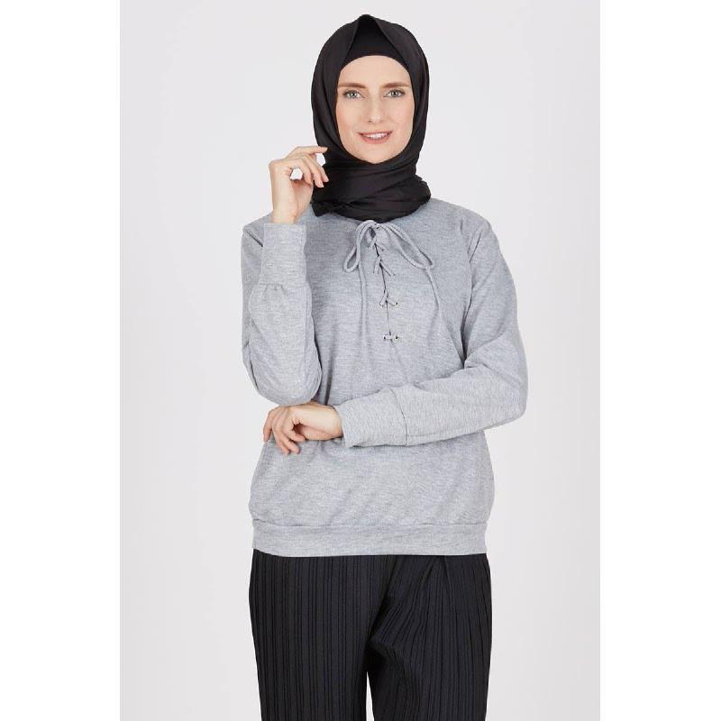 Fraser Grey Knit Top