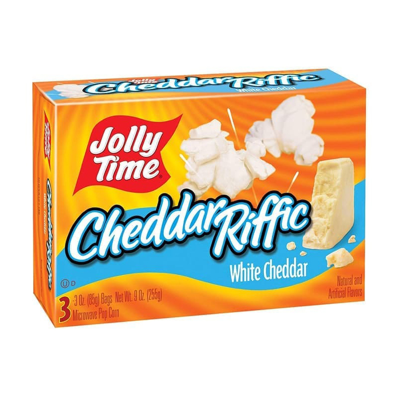 Jolly Time Popcorn Cheddar Riffic 72g
