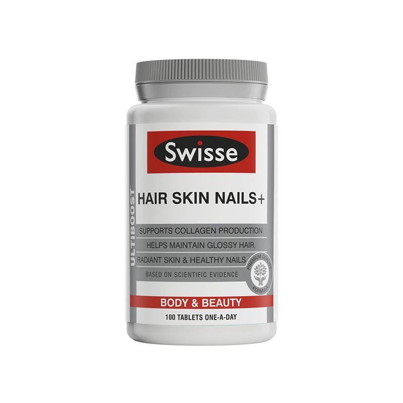 Swisse Ultiboost Hair Skin Nails 100 Tabs