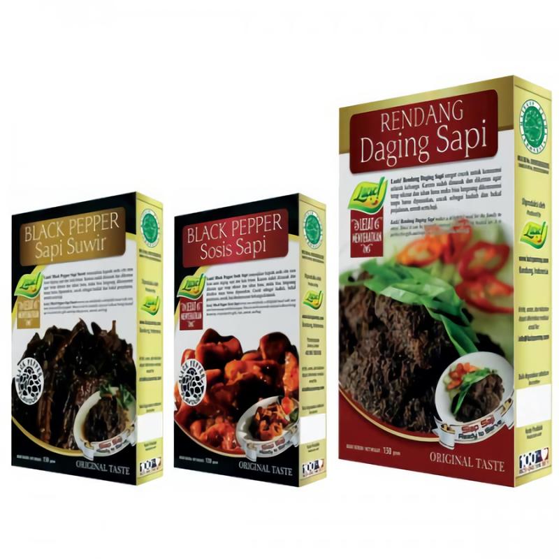 Black Pepper Sapi Suwir  Sosis Sapi  Rendang Daging Sapi