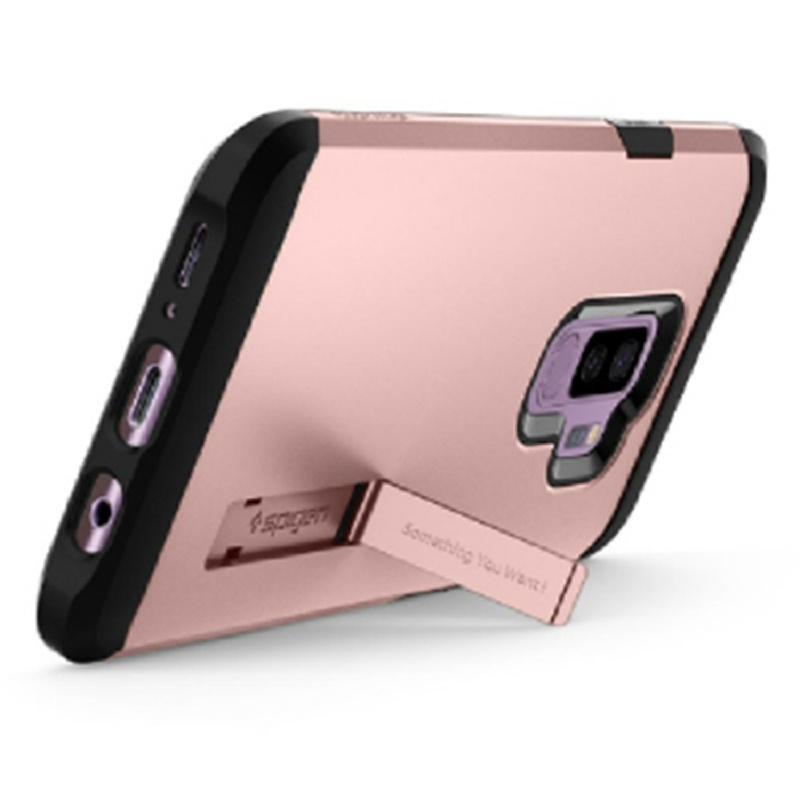 Spigen Galaxy S9+ Case Tough Armor - Rose Gold