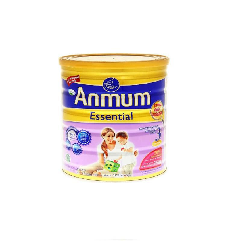 Anmum Susu Bubuk Essential 3 Vanilla Tin 750G