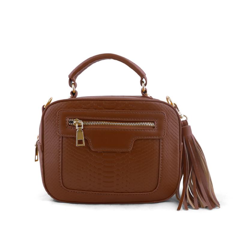 AliveLoveArts Isabel Camel Hand-Sling Bags