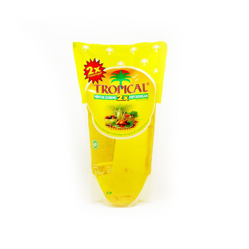 Tropical Minyak Grg Pouch 1 L