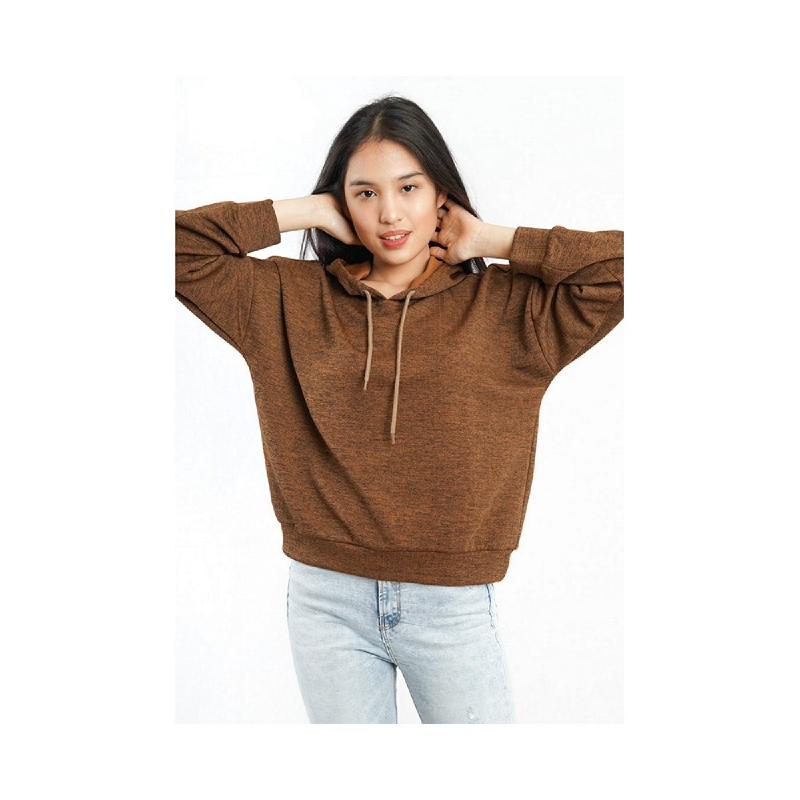 Agatha Hoodie Sweater Brown