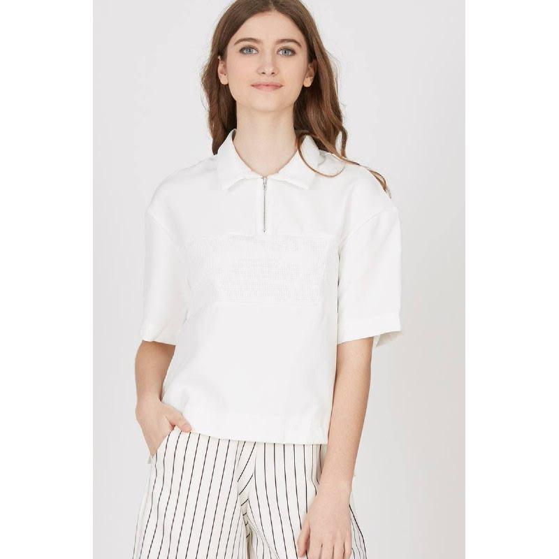Gwen Hanau Top in White