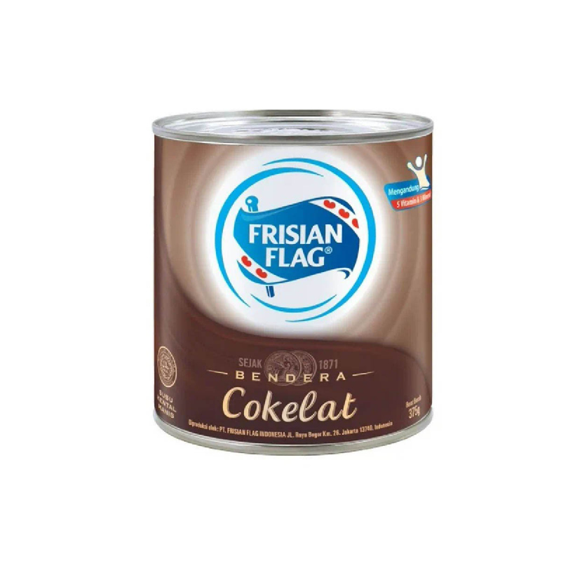 Frisian Flag Sweetened Condensed Milk Chocolate 370G