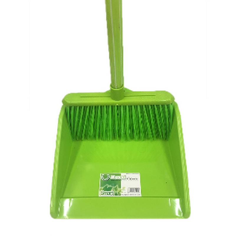 Maxxi Smart Long Dustpan Broom Set