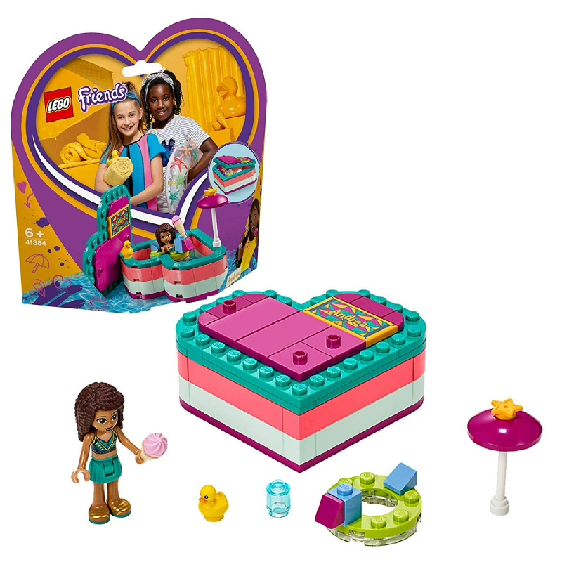 LEGO® Friends 41384 Andrea's Summer Heart Box