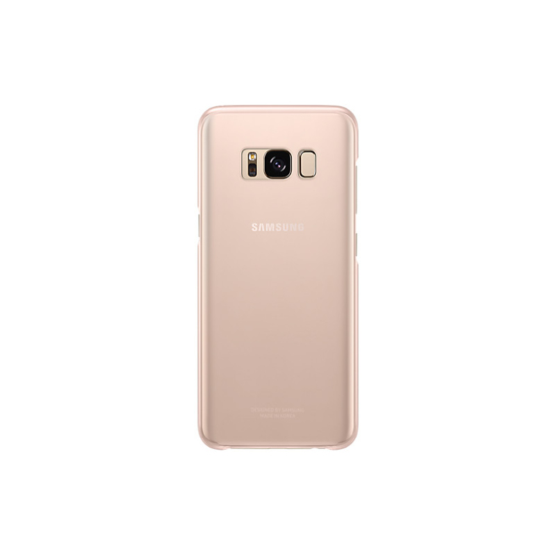 Samsung Clear Cover For Galaxy S8 - Pink