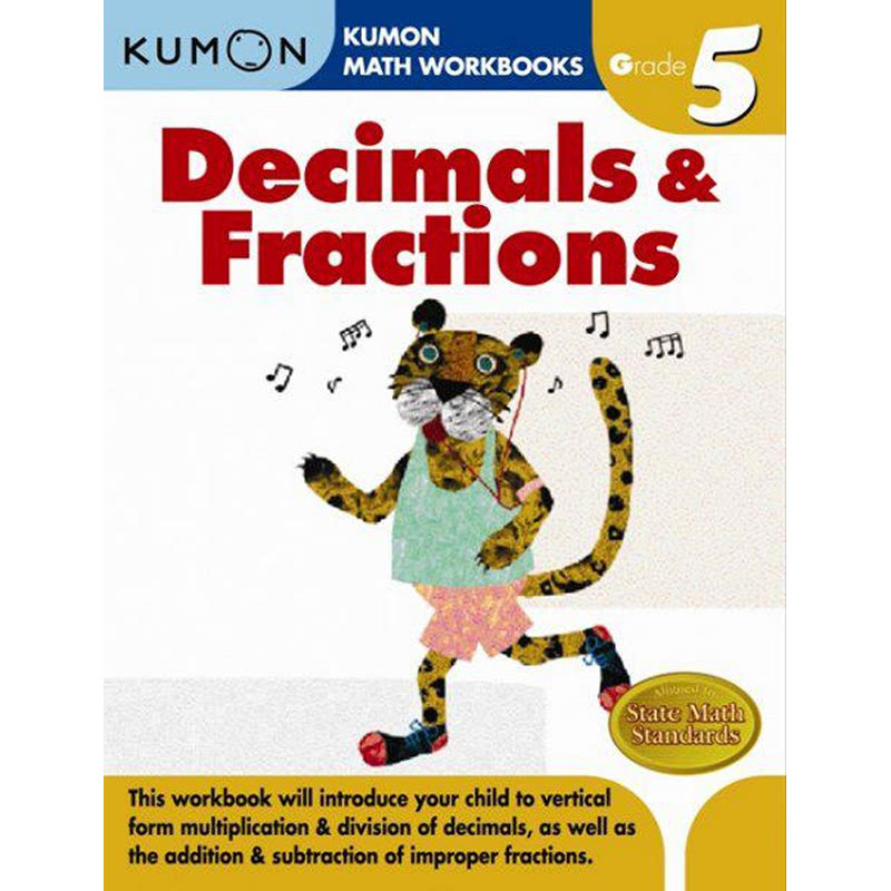 Kumon Grade 5 Decimals & Fractions