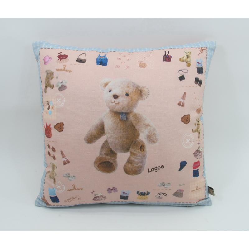 Bear Cushion Logoe
