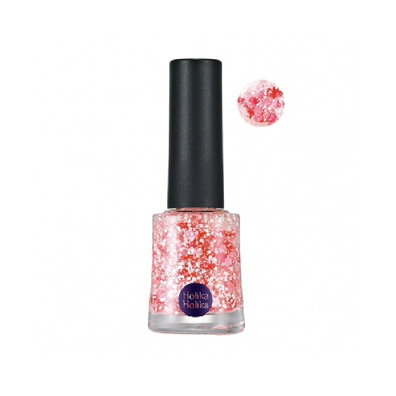 Holika Glitter Nails GT04 Flower Shower(15SS) 10ml