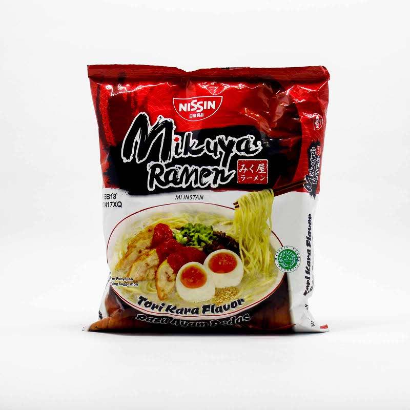 Nisiin Mikuya Ramen Ayam Pedas 120 Gr