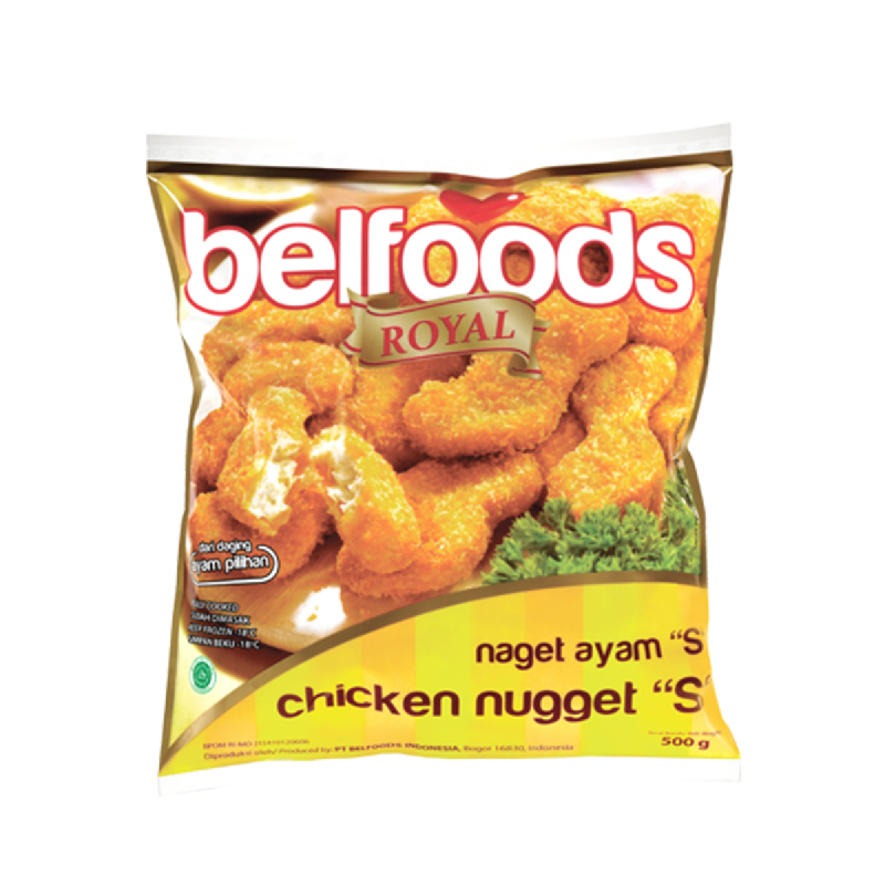 Belfoods Royal Ayam Nuggets 500 gr