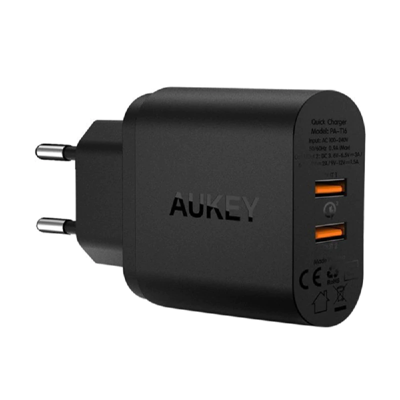 Aukey Amp 36W Power Delivery Wall Charger For Samsung - 500406