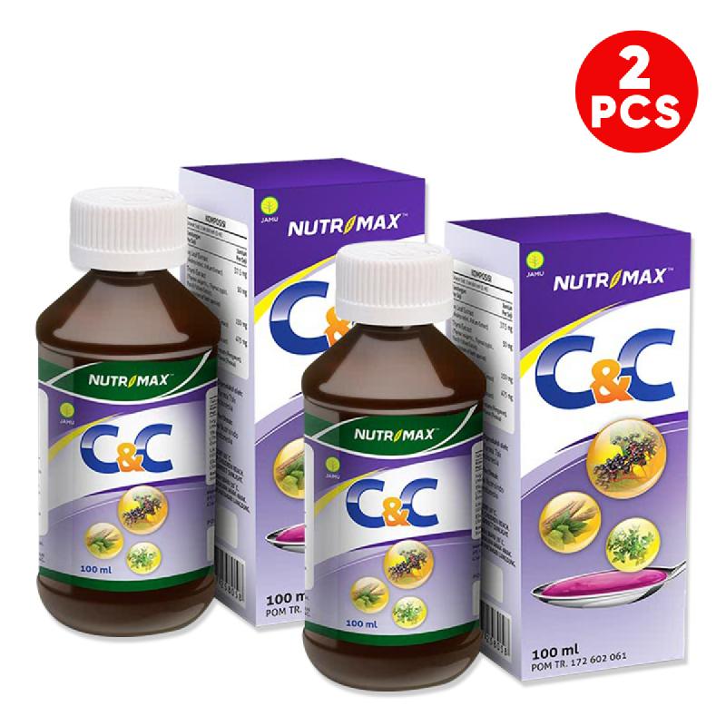 Buy 2 Bottle Nutrimax C&C Syrup 100 Ml