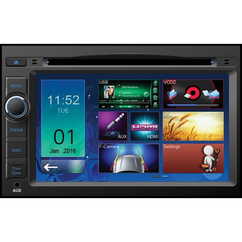 MOBILETECH Headunit For Spin 7 Inch