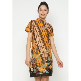 WINGGO Jing Shanghai Collar Batik Dress