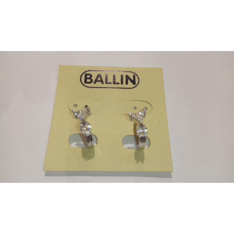 Ballin Women Earing FF-E98087S Silver