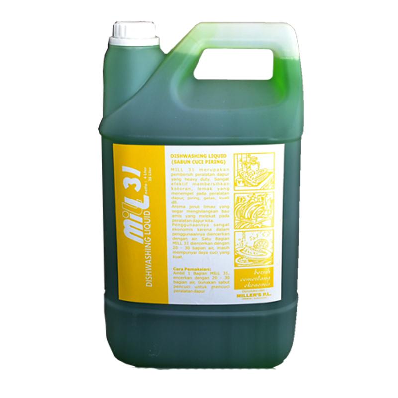 MILL Sabun Cuci Piring Lime 4L