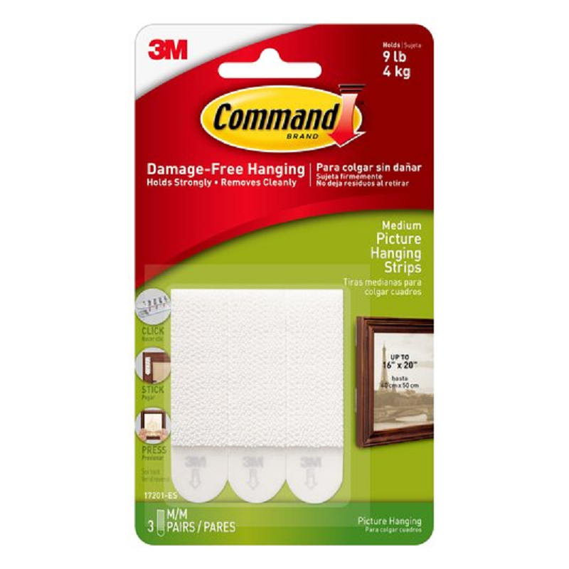 Command 17201 - Medium Picture Hanging Strips