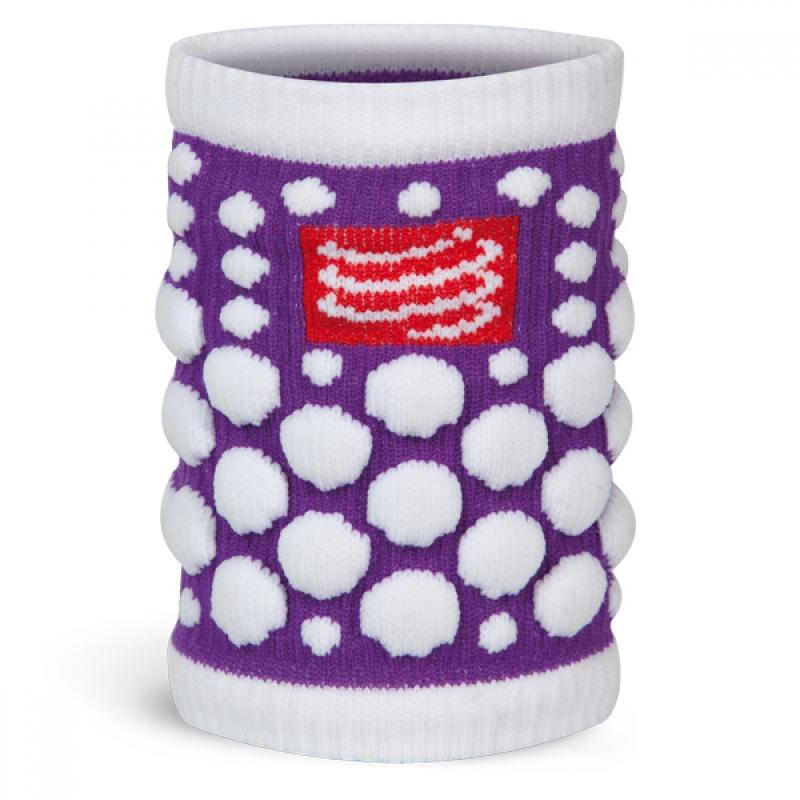 COMPRESSPORT 3D Dot Sweat Band FLUO Purple
