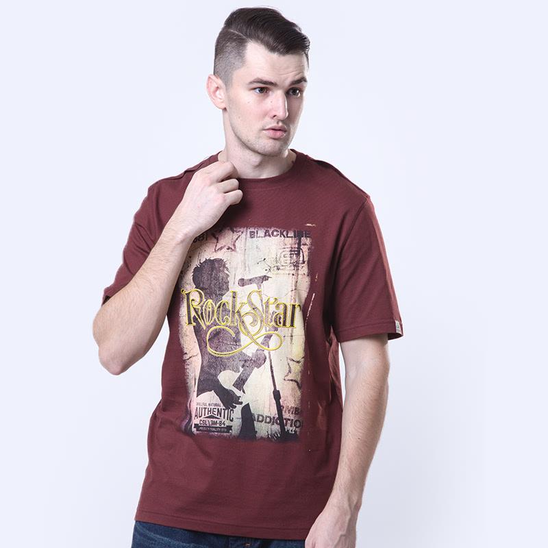 Starblack Andora Red Cotton T-shirt