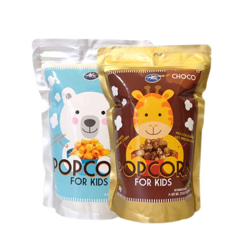 Abefood Cheese Pop Corn For Kids + Abefood Chocolate Pop Corn For Kids