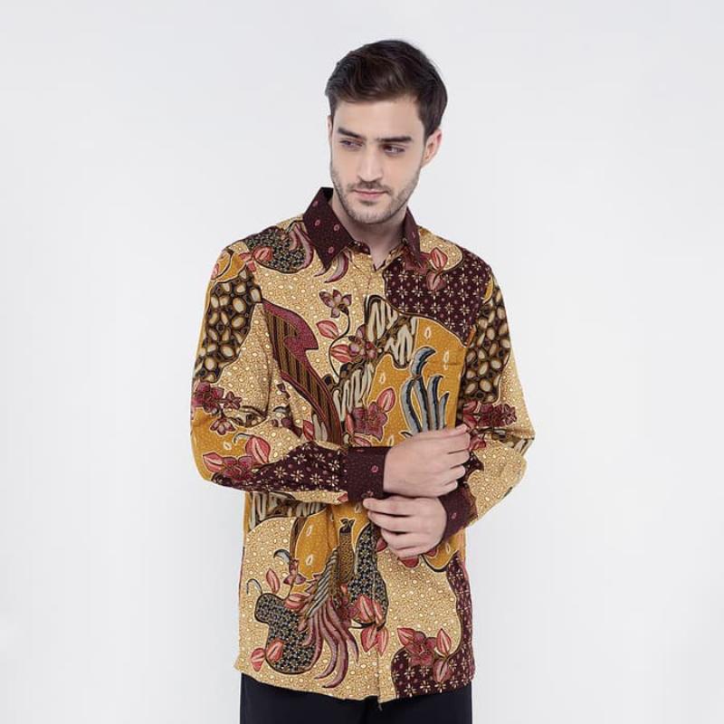 Asana Batik Long Sleeve LS7101KHA Khaki