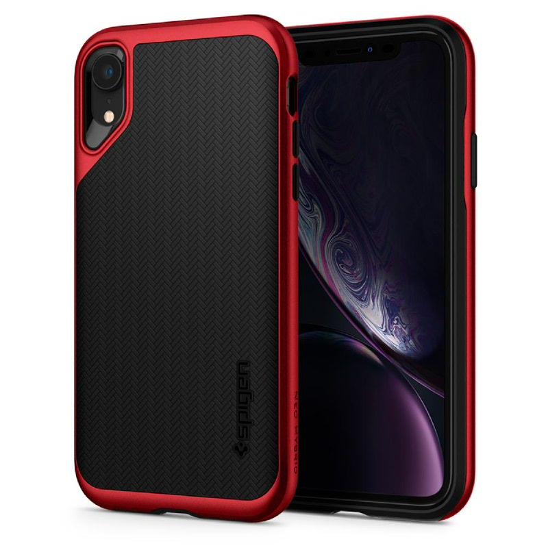 Spigen iPhone XR Case Neo Hybrid - Red