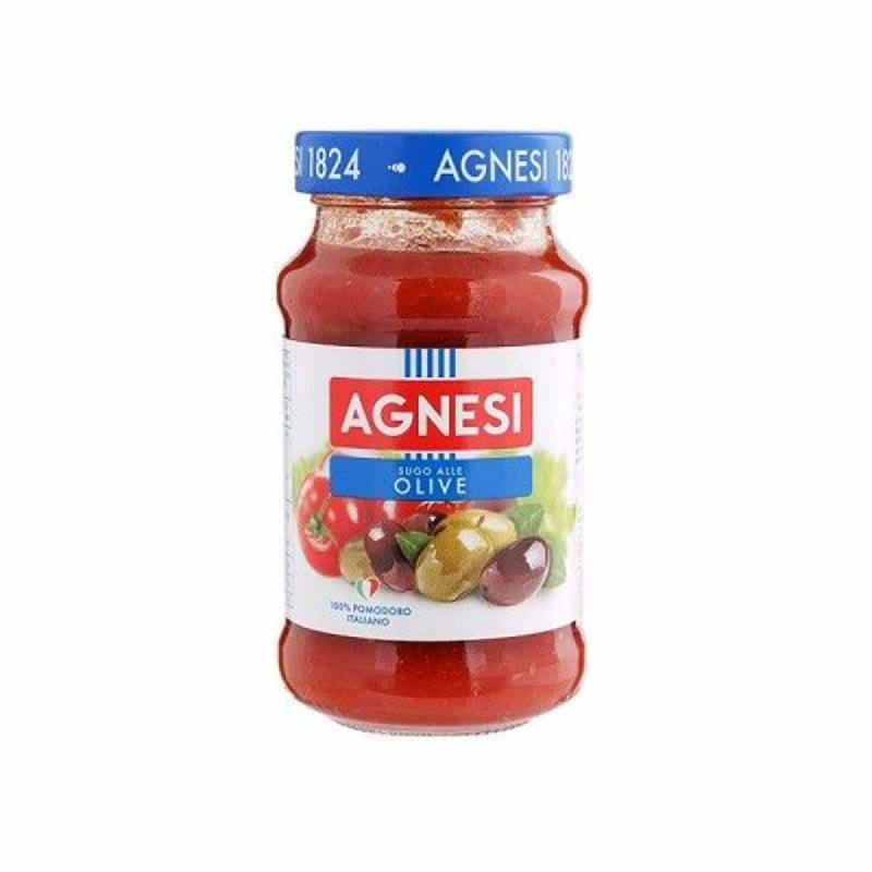 Agnesi Sauce Pomodoro E. Olive 400 Gr