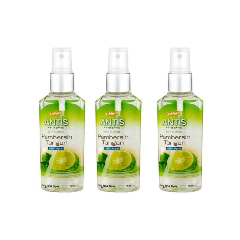 Antis Spray Jeruk Nipis 55Ml (Buy 2 Get 1)