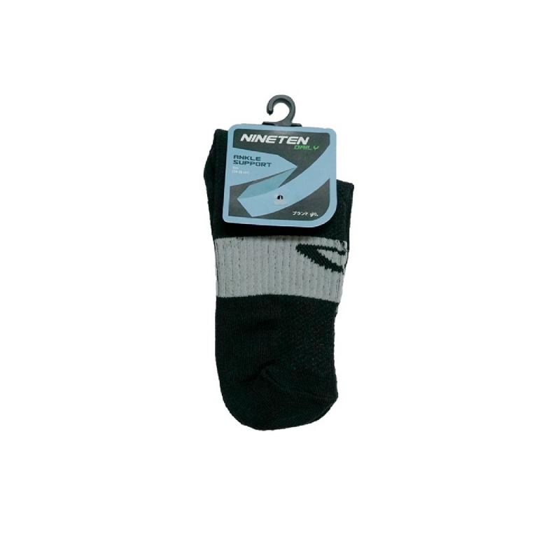 910 Nineten Socks Nichirin Quarter- Hitam