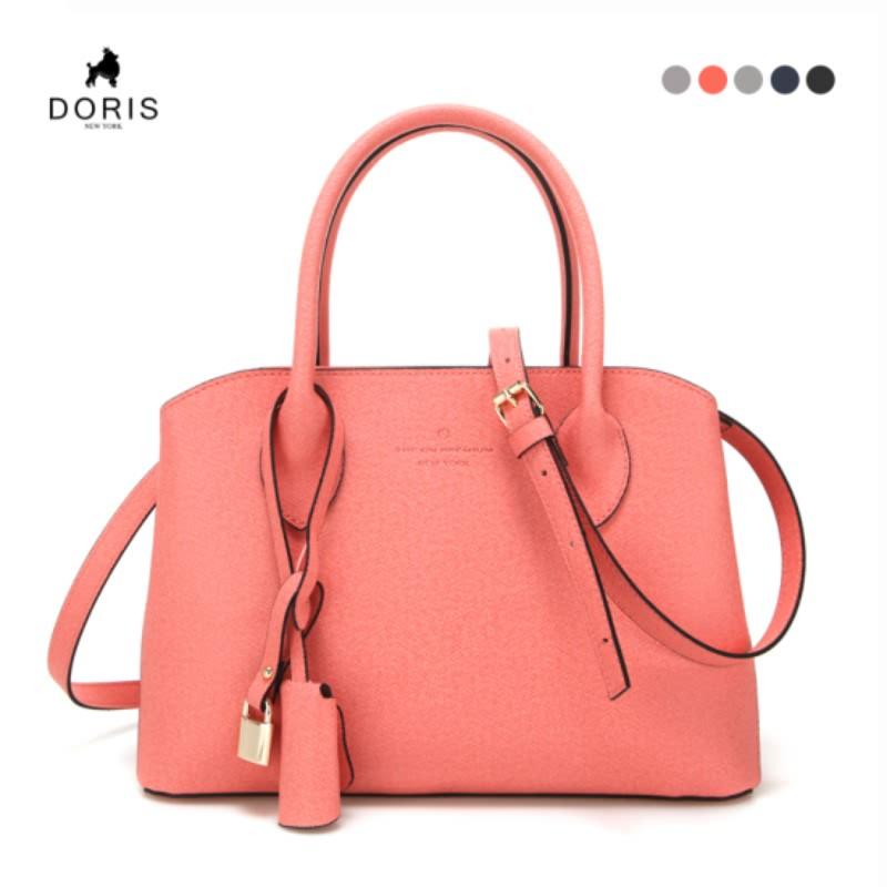 DN-B-1036 Osaka Tote and Shoulder Bag - Peach Pink