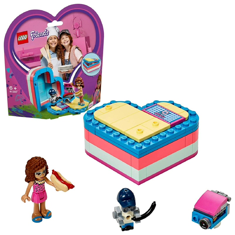 LEGO® Friends 41387 Olivia's Summer Heart Box