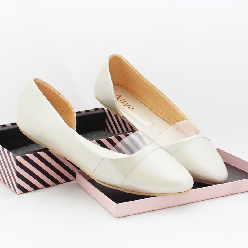 Alivelovearts Flat Shoes Eevee Pearl