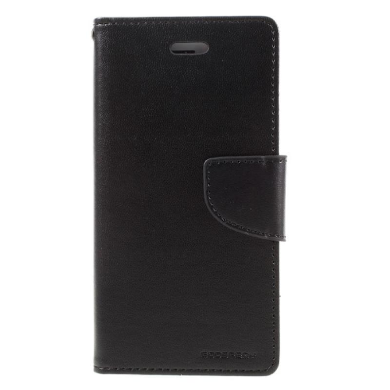 Goospery Bravo Diary I Phone 7 Plus - Hitam
