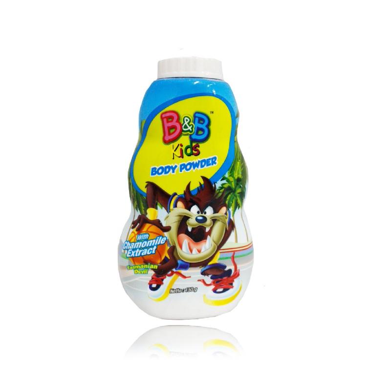 B&B Kids Body Powder Tazmania 150 Gr