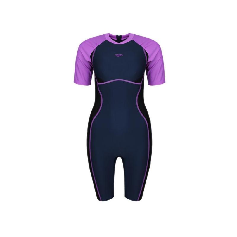 Speedo ESS Kneesuit Women Swimwear Navy