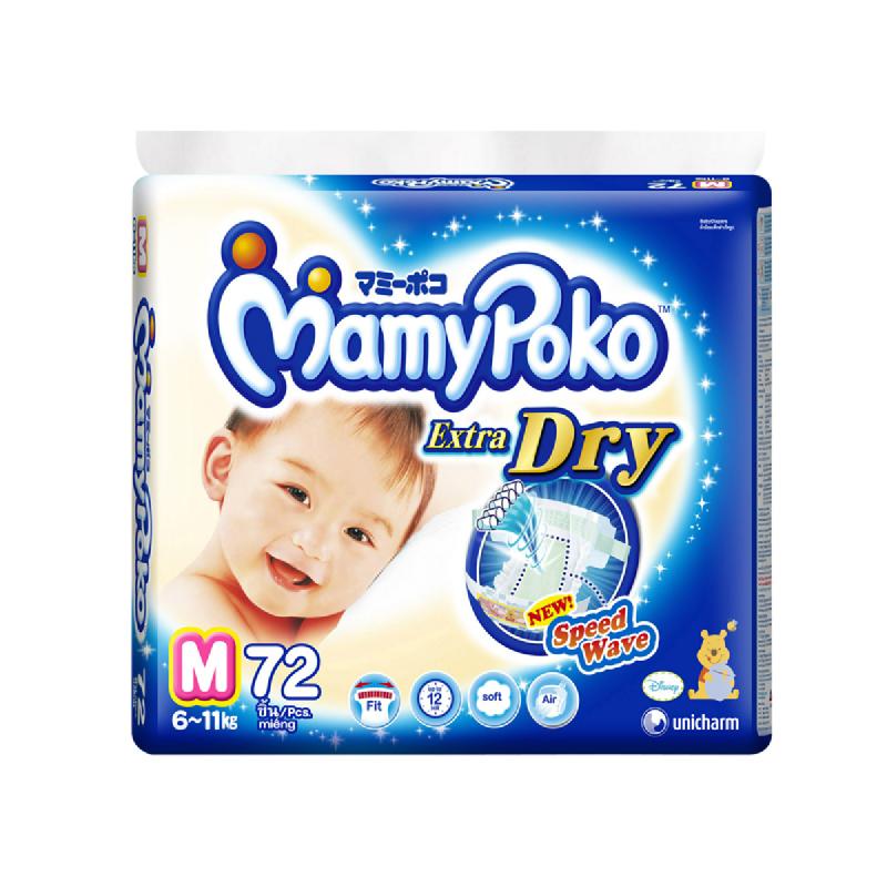 Mamy Poko Popok Bayi Sekali Pakai  M 72