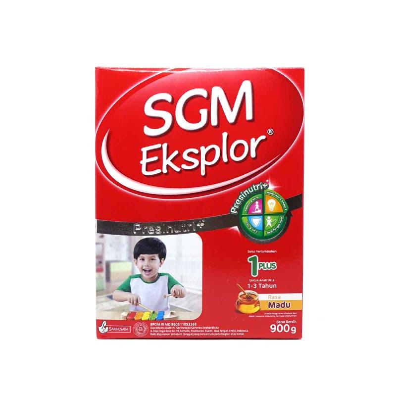 SGM Susu Bubuk Eksplor 1+ Madu Box 900Gr