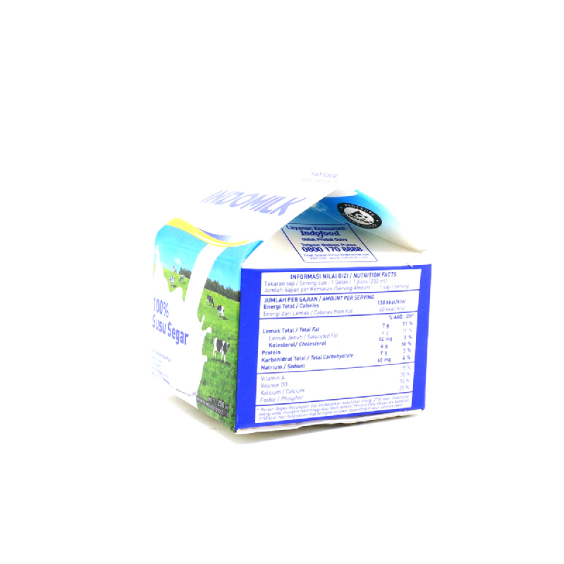 Indomilk Plm Plain 200Ml